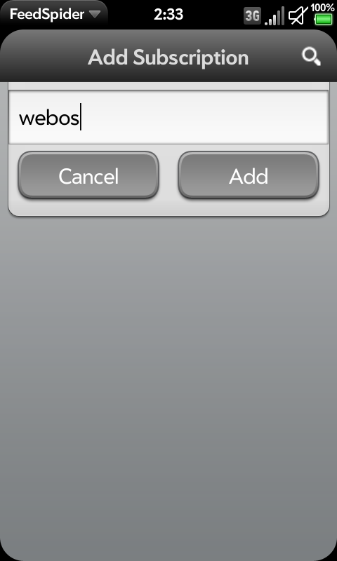 FeedSpider - The Coolest RSS Reader for webOS, LuneOS and Firefox OS
